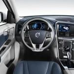 Cockpit, Lenkrad, Mittelkonsole des Volvo XC60 Plug-in-Hybrid