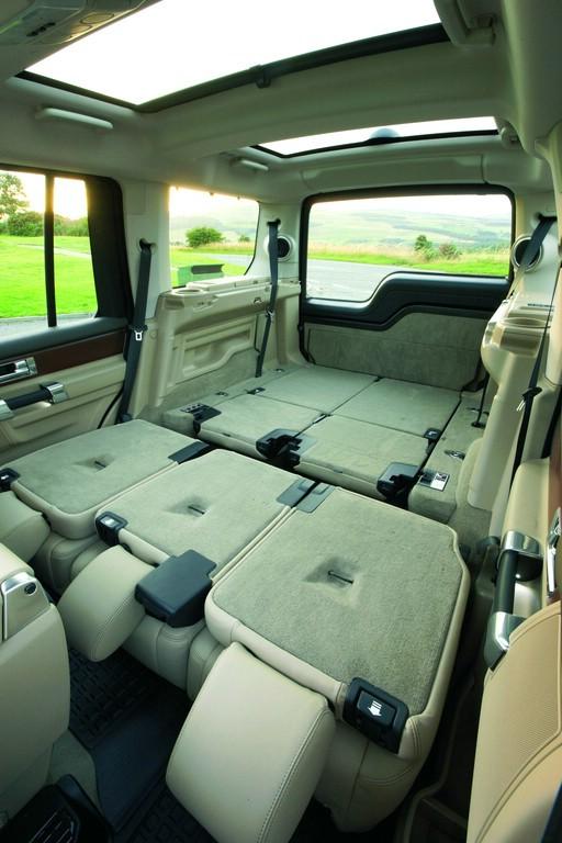 Der Land Rover Discovery bietet viel Platz für Gepäck