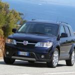 Der neue Fiat Freemont in der Frontansicht