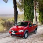 Der Fiat Strada in der Frontansicht