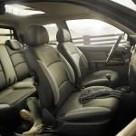 Der Innenraum des Fiat Strada