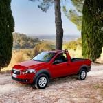 Der neue Fiat Strada in der Seitenansicht