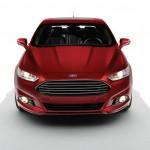 Die Frontpartie des Ford Fusion