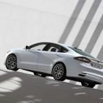 Ford Fusion in der Farbe Weiß