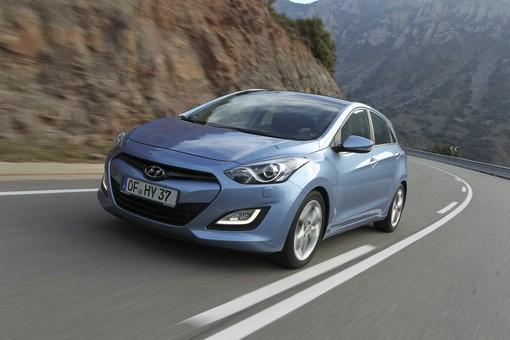 Hyundai i30 in der Zweiten Generation