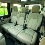 Land Rover Discovery - Hier nehmen die Fondpassagiere Platz