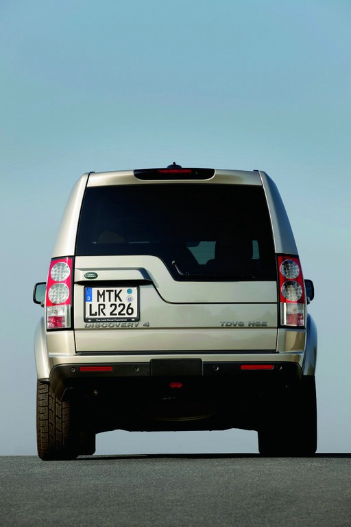 Der Land Rover Discovery in der Hecknaischt