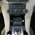 Mittelkonsole Land Rover Discovery - Innenraum