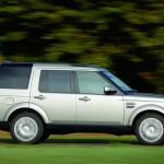 Der Land Rover Discovery in der Seitenansicht