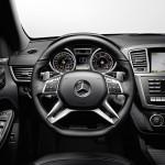 Das Cockpit des Mercedes-Benz ML 63 AMG