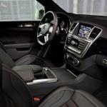 Der Innenraum des Mercedes-Benz ML 63 AMG