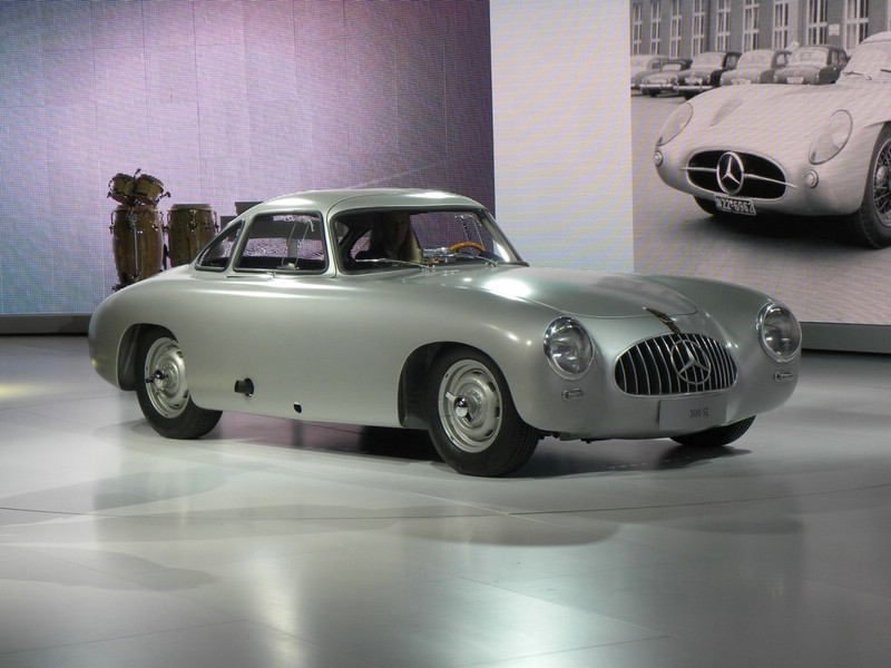 Mercedes-Benz SL aus dem Jahr 1951 auf der Detroit Autoshow 2012.