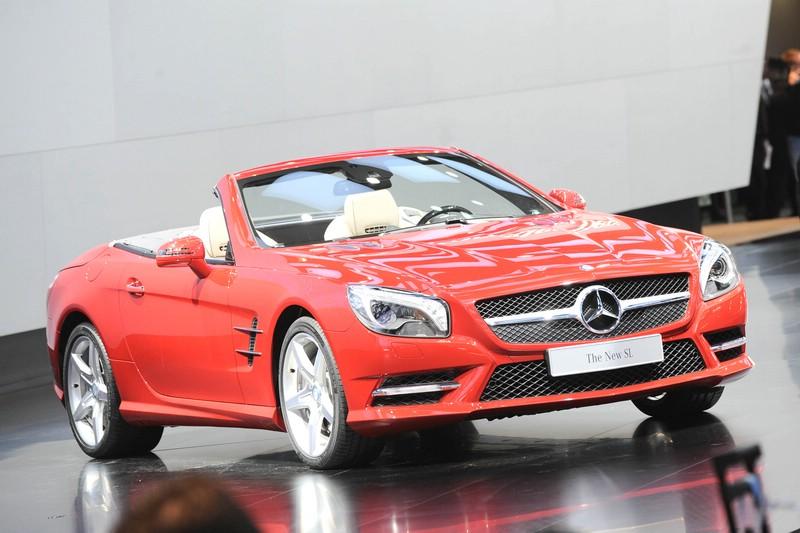 Mercedes-Benz stellt in Detroit den neuen SL vor