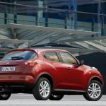 Der Nissan Juke 1.5 dCi in der Heckansicht