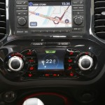 Das Navigationssystem im Nissan Juke 1.5 dCi