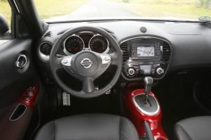 Das Cockpit des Nissan Juke