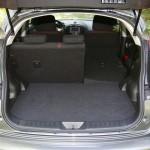 Der Kofferraum des Nissan Juke