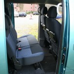 Nissan NV200 Evalia dci90 - Die Sitze im Fond