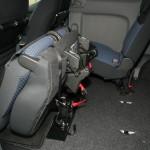 Nissan NV200 Evalia Sitze umgeklappt