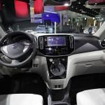 Der Innenraum des Transporters Nissan e-NV200 Concept