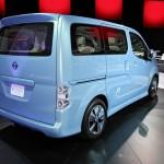 Nissan zeigt Elektrotransporter e-NV200 Concept in Detroit