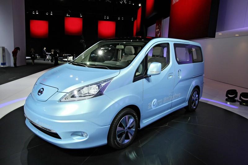 Nissan e-NV200 Concept auf der Automesse in Detroit