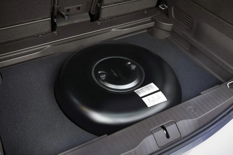 Der Gastank des Opel Meriva 1.4 LPG Ecoflex
