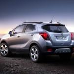 Opel Mokka in der Heckansicht