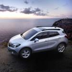 Der Opel Mokka in der Seitenansicht