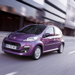 Peugeot 107 Lila