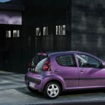Peugeot 107 Facelift 2012 in Lila
