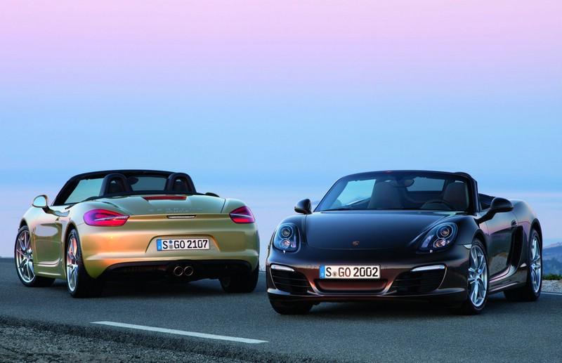Porsche Boxster und Boxster S Modell 2012