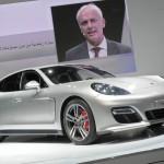 Matthias Müller stellt den Porsche Panamera GTS vor