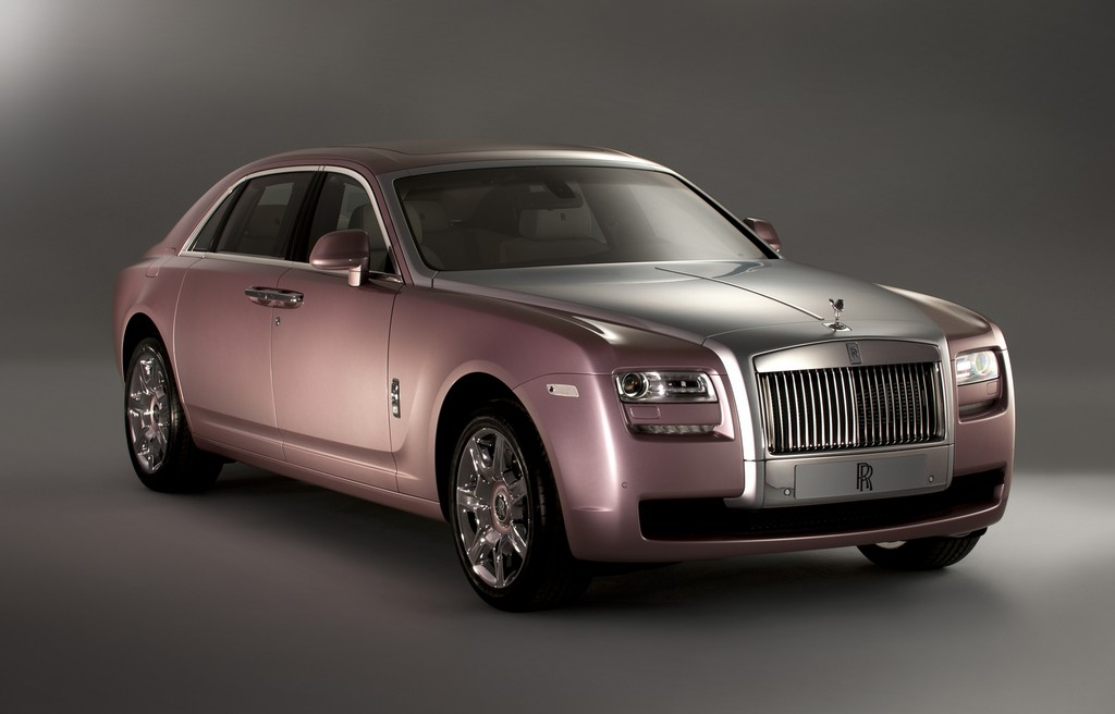 Luxuswagen: Rolls-Royce Rose Quartz Ghost