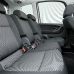 Die hinteren Sitze des Skoda Roomster Scout