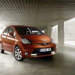 Toyota präsentiert den neuen Aygo Facelift 2012