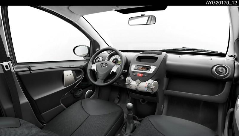 Neuer Toyota Aygo in der Innenansicht