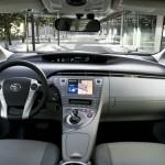 Armaturenbrett des Toyota Prius