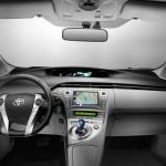 Das Cockpit des Toyota Prius