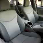 Der Innenraum des Toyota Prius