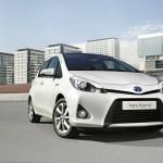 Der Toyota Yaris Hybrid in der Frontansicht