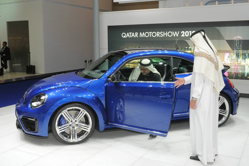 VW Beetle R auf der Quatar Motor Show 2012