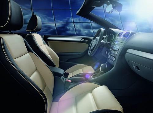 VW Golf Cabriolet Sondermodell Exclusive Innenraum
