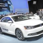 VW Jetta Hybrid auf der Detroit-Messe 2012