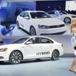 VW Jetta Hybrid bei der Vorstellung auf der US-Messe
