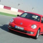 Der neue VW New Beetle in der Farbe Rot