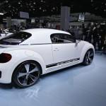 VW Zweisitzer E-Bugster in Detroit (USA)