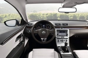 Das Cockpit des Volkswagen CC