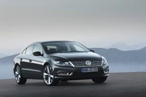 Die Frontpartei des Volkswagen CC
