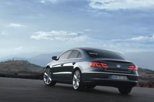 Der Volkswagen CC in der Seiten und Heckansicht